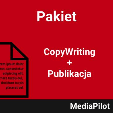 pakiet copywriting + publikacja